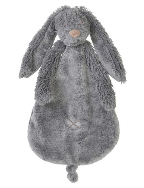 Rabbit Richie Deep Grey knuffeldoekje